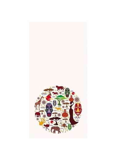 Artikel Mini Desenli -2 Dekoratif Çift Taraflı Yastık Kırlent Kılıfı 45x45 cm Renkli